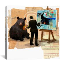 Anthony Freda Bull Spin Canvas Print Wall Art
