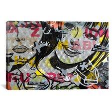 Dan Monteavaro Apologies Graphic Art on Wrapped Canvas