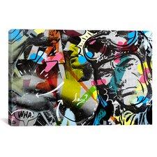 Dan Monteavaro Strongman Graphic Art on Wrapped Canvas