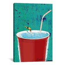 Anthony Freda Big Drink Canvas Print Wall Art