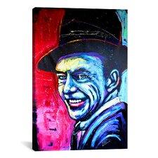 Rock Demarco Sinatra Art 002 Canvas Print Wall Art