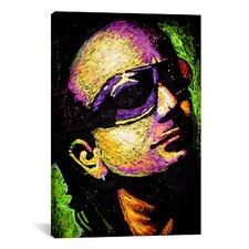 Rock Demarco Bono Drip 002 Canvas Print Wall Art