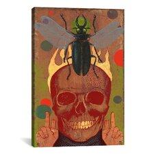 Anthony Freda Skull Canvas Print Wall Art