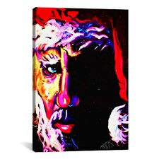 Rock Demarco Santa 1 001 Signed Canvas Print Wall Art