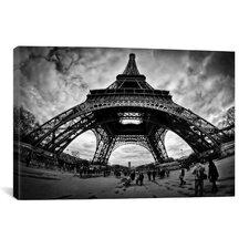 """Eiffel Apocalypse"" by Sebastien Lory Photographic Print on Canvas"