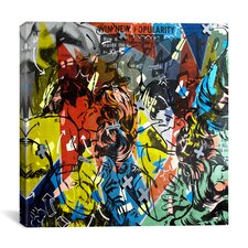 Dan Monteavaro Popularity Everyone is Doing It Painting Print on Wrapped Canvas