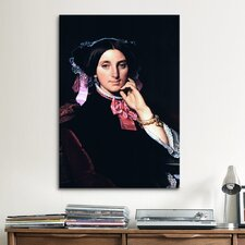 'Madame Gonse' by Jean Auguste Ingres Painting Print on Canvas