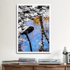 'Reflection Bear Mountain' by Harold Silverman - Foilage and Greenery Photographic Print on Canvas