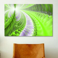 Digital Pluto's Forests Graphic Art on Canvas