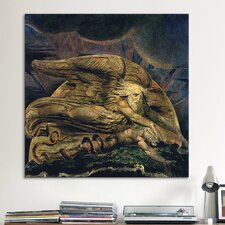 'Elohim Creating Adam' by William Blake Painting Print on Canvas