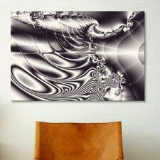 Digital Eyelashes Graphic Art on Canvas