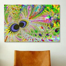Digital Eyes of the Universe Graphic Art on Canvas