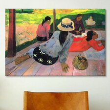 'The Siesta' by Paul Gauguin Painting Print on Wrapped Canvas