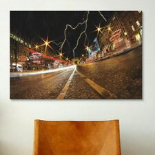 'Elysee Storm' by Sebastien Lory Photographic Print on Canvas