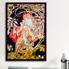 'Ivy' by Alphonse Mucha Painting Print on Canvas