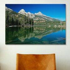 'Grand Teton 06' by Gordon Semmens Photographic Print on Canvas