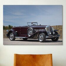 Cars and Motorcycles 1935 Duesenberg Model J Murphy Convertible Coupe Photographic Print on Canvas