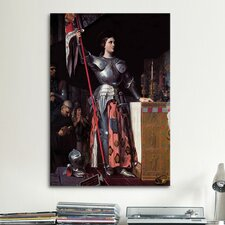 'Joan of Arc' by Jean Auguste Ingres Painting Print on Canvas