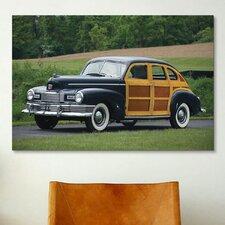 Cars and Motorcycles 1947 Nash Ambassador Super Suburban Photographic Print on Canvas