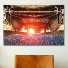 'Atomic Train' by Sebastien Lory Photographic Print on Canvas
