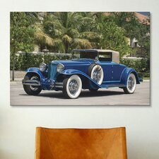 Cars and Motorcycles 1930 Cord L-29 Cabriolet Photographic Print on Canvas