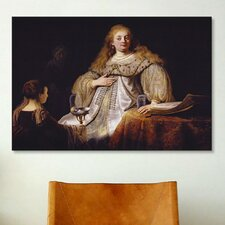 'Artemisia' by Rembrandt Painting Print on Canvas