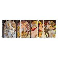 Botticelli Sandro Les Saisons 3 Piece on Wrapped Canvas Set