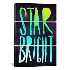 Leah Flores Star Bright 3 Piece on Wrapped Canvas Set