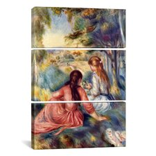 Pierre-Auguste Renoir In The Meadow 3 Piece on Wrapped Canvas Set