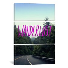 Wanderlust Forest by Leah Flores 3 Piece on Wrapped Canvas Set