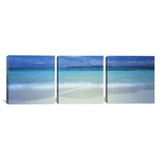 Great Barrier Reef, Queensland, Australia 3 Piece Photographic Print on Wrapped Canvas Set