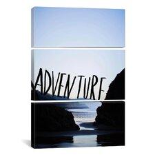 Leah Flores Adventure (Arcadia) 3 Piece on Wrapped Canvas Set