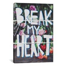 Leah Flores Break My Heart 3 Piece on Wrapped Canvas Set