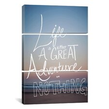 Great Adventure by Leah Flores 3 Piece on Wrapped Canvas Set