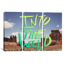 Leah Flores Into the Wild (Moab) 3 Piece on Wrapped Canvas Set