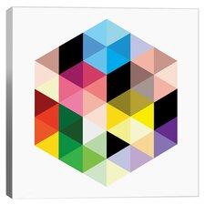 Modern Art Cuboids llI Graphic Art on Canvas
