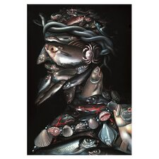 'The Admiral' by Giuseppe Arcimboldo Graphic Art on Canvas