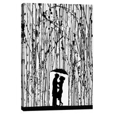 """""""Film Noir"""" by Marc Allante Painting Print on Wrapped Canvas"""