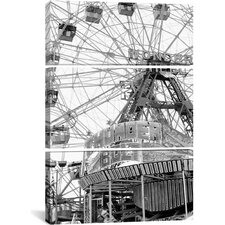'Coney4' by Chris Bliss Photographic Print on Canvas