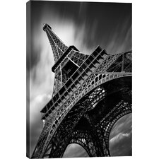"""Eiffel Tower Study II"" by Moises Levy Photographic Print on Canvas"