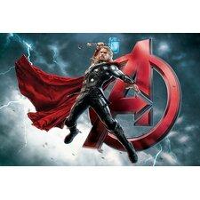 Marvel Comics Thor, The Avenger, Movie Graphic Art on Canvas