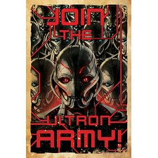 Marvel Comics Join The Ultron Army! Graphic Art on Canvas