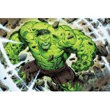Marvel Comics The Incredible Hulk, Comic Book Graphic Art on Canvas