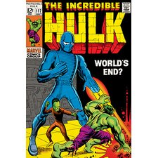 Marvel Comics The Incredible Hulk World's End? Issue #117 Vintage Advertisement on Canvas