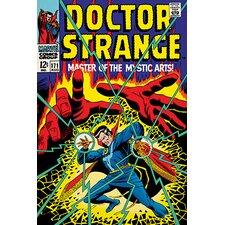 Marvel Comics Doctor Strange, Issue #171 Cover Vintage Advertisement on Canvas