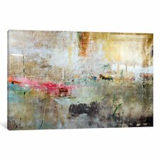 'Rain Clouds' by Julian Spencer Painting Print on Wrapped Canvas