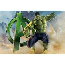 Marvel Comics Hulk, The Avenger, Movie Poster Graphic Art on Canvas