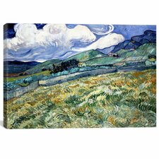 'Landscape at Saint Remy' by Vincent Van Gogh Painting Print on Canvas