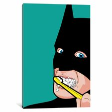 "'Bat-Brush' by Gregoire ""Leon"" Guillemin Graphic Art on Wrapped Canvas"