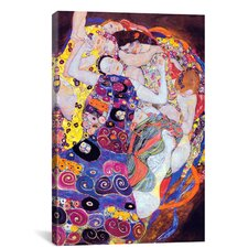 Virgin by Gustav Klimt Painting Print on Canvas